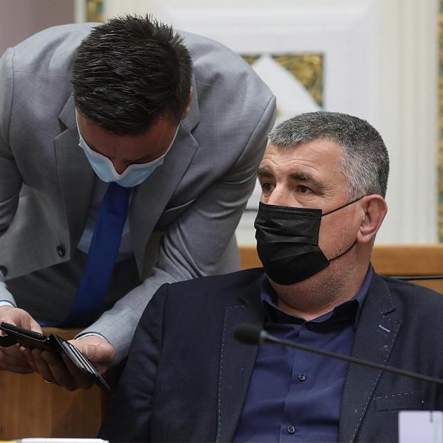 Ante Kujundžić (lijevo) i Miro Bulj