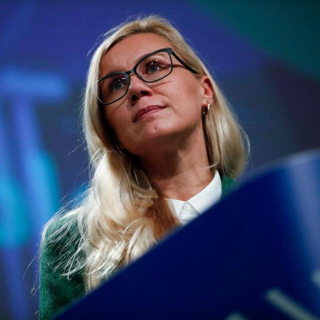Kadri Simson, povjerenica Europske komisije zadužena za energetiku