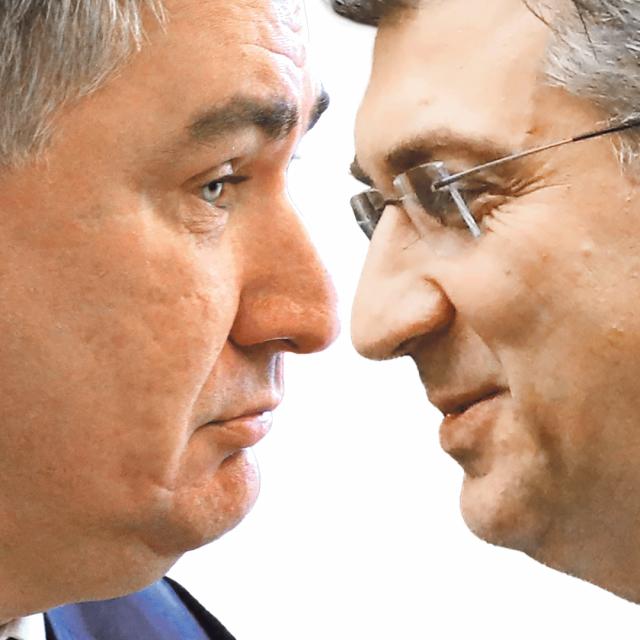 Zoran Milanović i Andrej Plenković