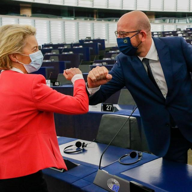 Charles Michel i Ursula von der Leyen predstavljat će EU na bilateralnim sastancima ovoga tjedna