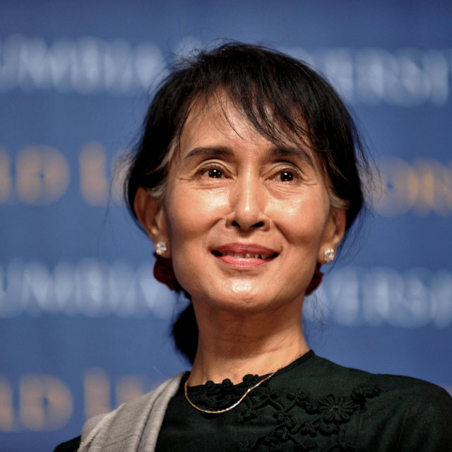 Aung San Suu Kyi / arhivska fotografija