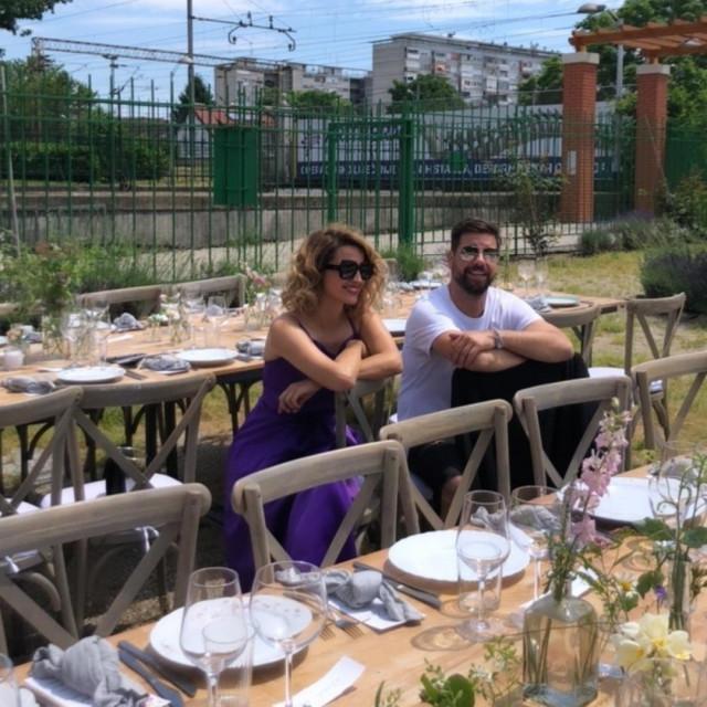 Doris Pinčić i Jan Štedul
