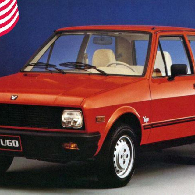 1988 Yugo GV (US-spec)