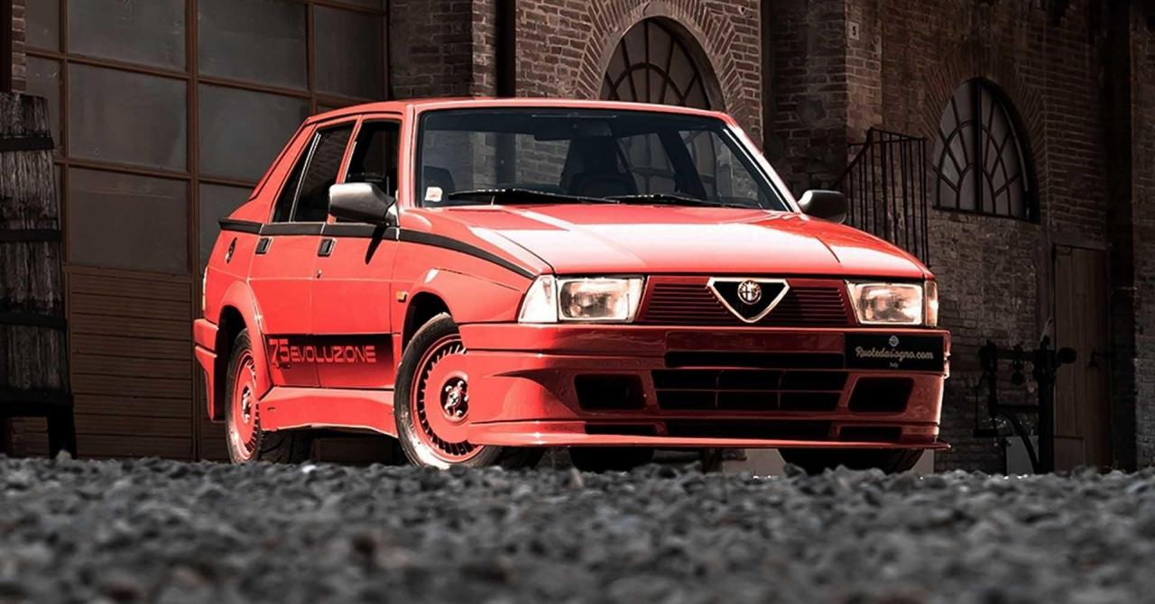foto, video prodaje se kultni alfa romeo 75 turbo evoluzione kakvih je izrađeno samo 500 primjeraka