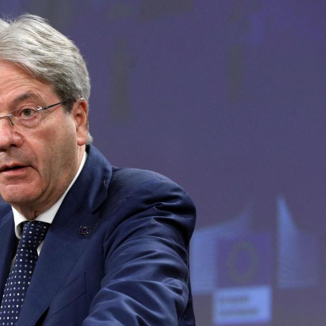 Autor Paolo Gentiloni europski je povjerenik za gospodarstvo i bivši predsjednik talijanske vlade