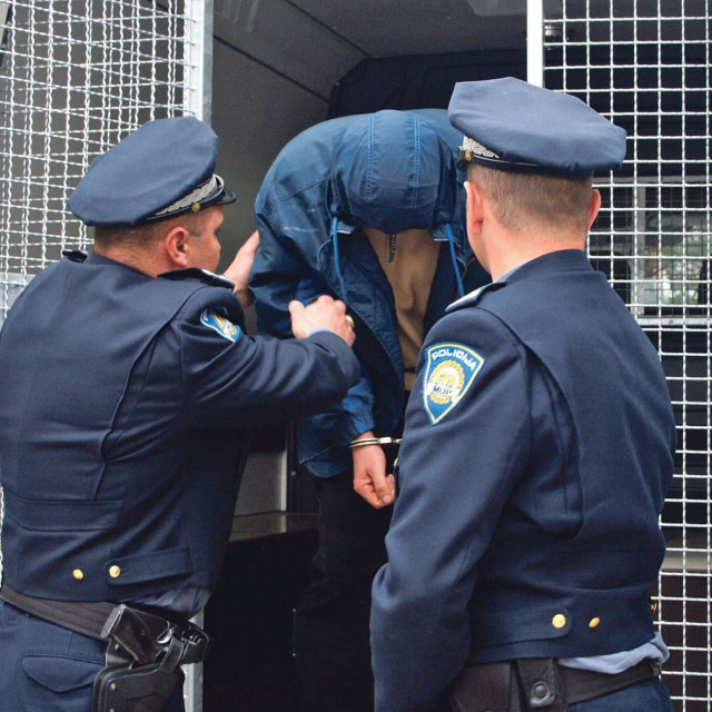 uhićenje / ilustracija
