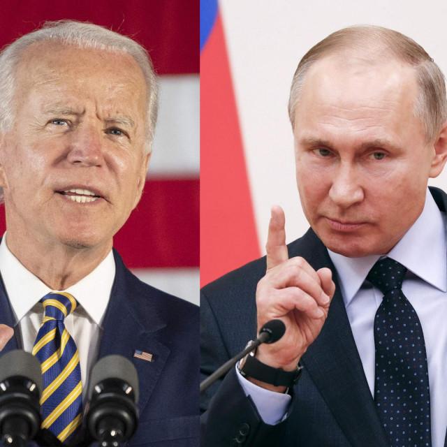 Joe Biden i Vladimir Putin