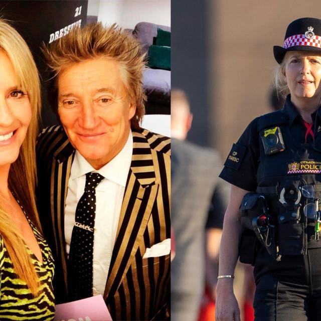Supruga Roda Stewarta, Penny Lancaster, postala je policajka