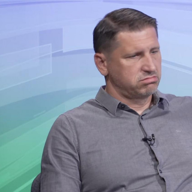 Silvio Marić u studiju Eurocasta
