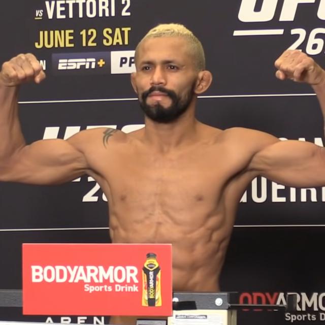 Deiveson Figueiredo na vaganju za UFC 263