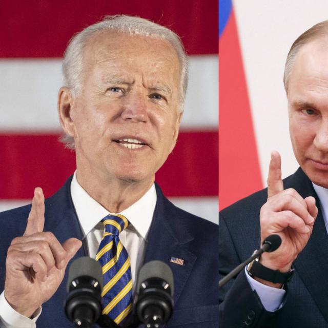 Joe Biden; Vladimir Putin