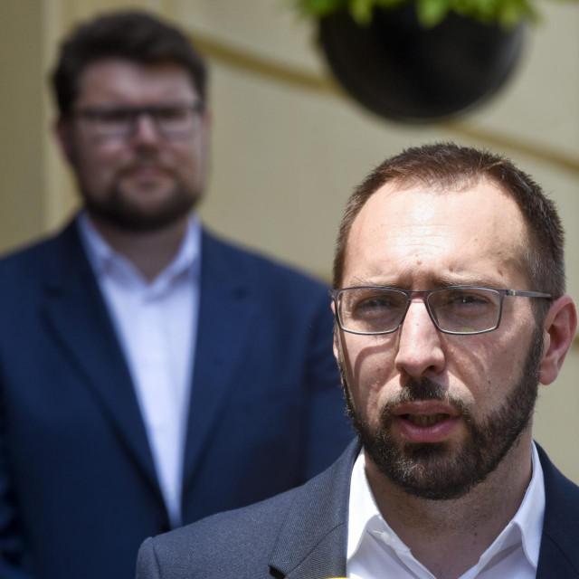 Peđa Grbin i Tomislav Tomašević