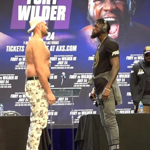 Fury vs. Wilder