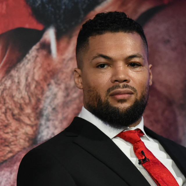 Joe Joyce during a Press Conference at the BT Tower on 7th February 2020<br /> Queensberry Promotions Presser, Boxing, BT Tower, London, United Kingdom - 07 Feb 2020,Image: 497010403, License: Rights-managed, Restrictions:, Model Release: no, Credit line: Philip Sharkey/TGS Photo/Shutterstock Editorial/Profimedia