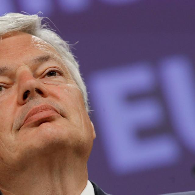 Povjerenik Europske komisije za pravosuđe Didier Reynders