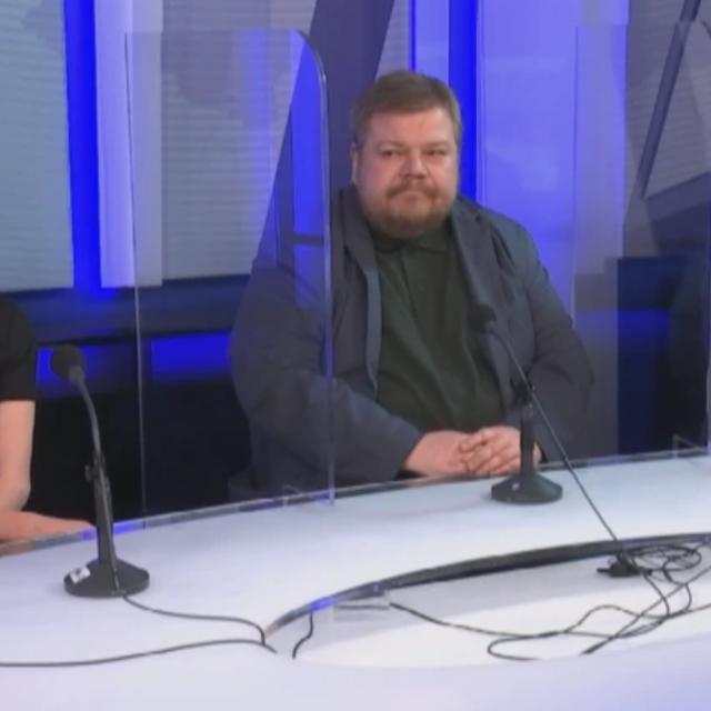 Ivana Kekin, Ivan Račan i Davor Filipović