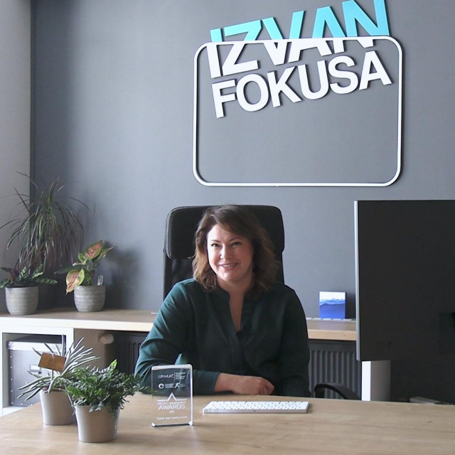 Adrijana Prugovečki, izvršna direktorica Izvan fokusa