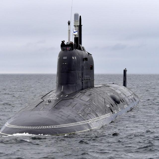 Ruska nuklearna podmornica Kazan, klase Jasen-M