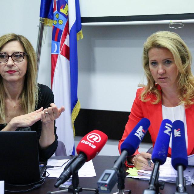 Majda Uzelac i Nataša Novaković iz Povjerenstva za odlučivanje o sukobu interesa