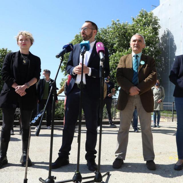 Ivana Kekin, Tomislav Tomašević, Zorislav Antun Petrović, Marijana Sumpor