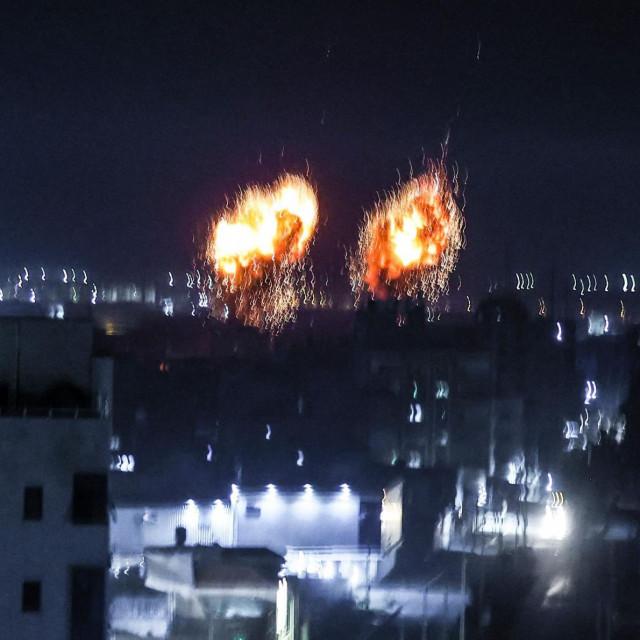 Eksplozije u Gazi