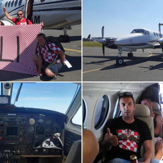 Saljani u avionu