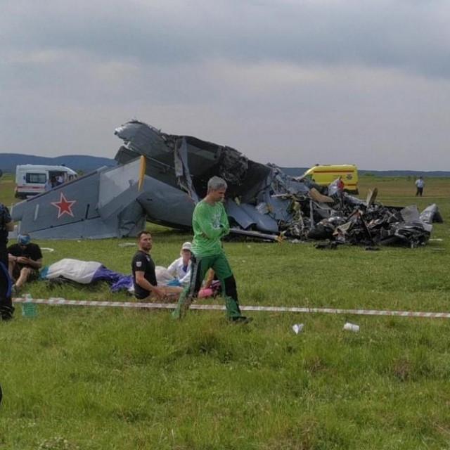 Avionska nesreća u Sibiru