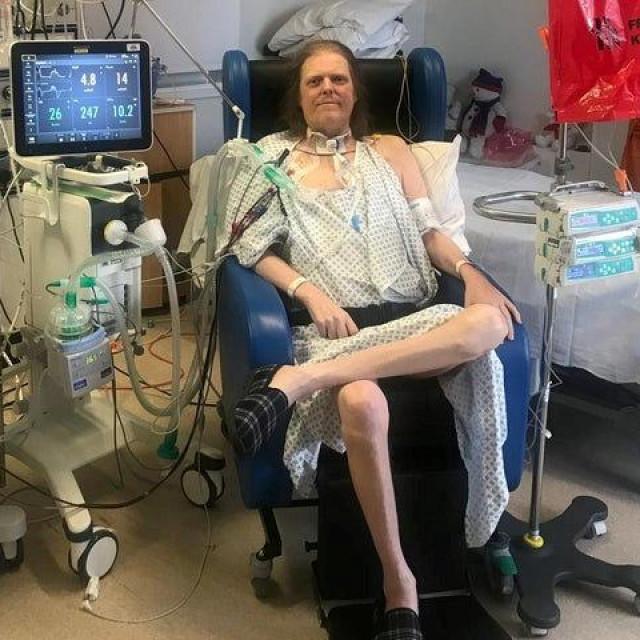 Jason Kelk u bolnici