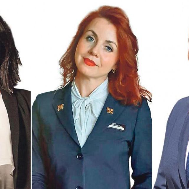 Gloria Luna Steiner, Jasmina Huskić i Sarah Buljat