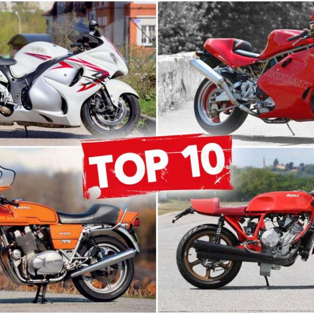 Top 10 (nekada) najbržih motocikala na svijetu