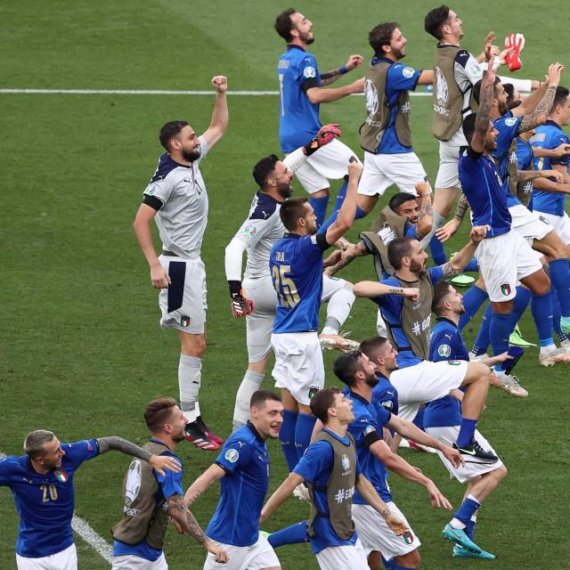 Talijansko slavlje nakon tri uzastopna trijumfa