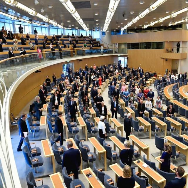 Švedski parlament, arhivska fotografija