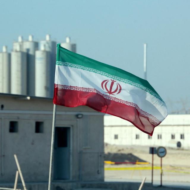 Iranska nuklearna elektrana Bušeher