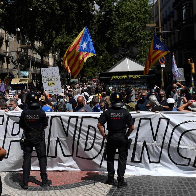 Prosvjed u Barceloni