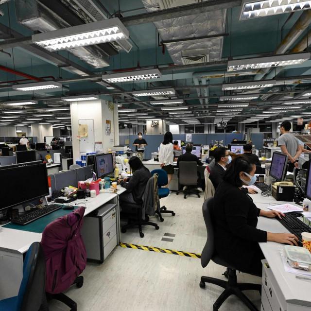 Redakcija lista Apple Daily