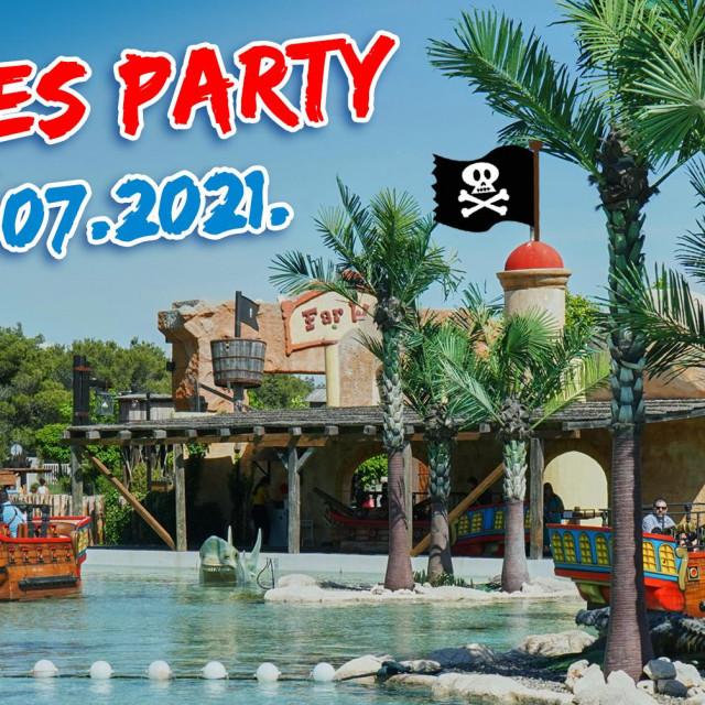 Pirates Party u Fun parku Biograd