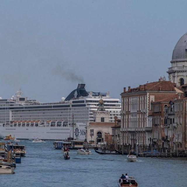 Prvi ovosezonski kruzer u Veneciji