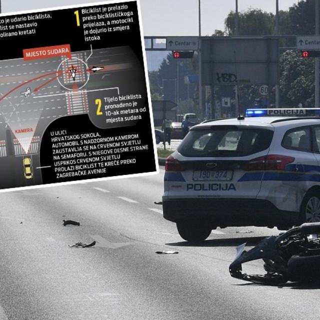 Prometna nesreća u Zagrebačkoj aveniji