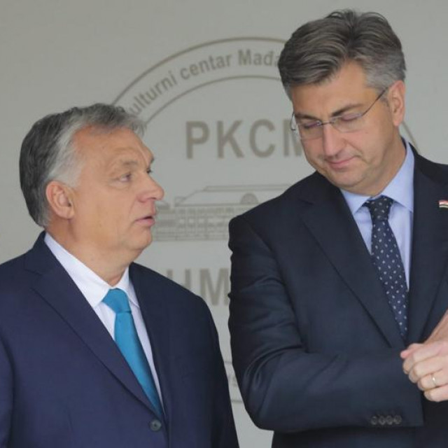 Andrej Plenković i Viktor Orban