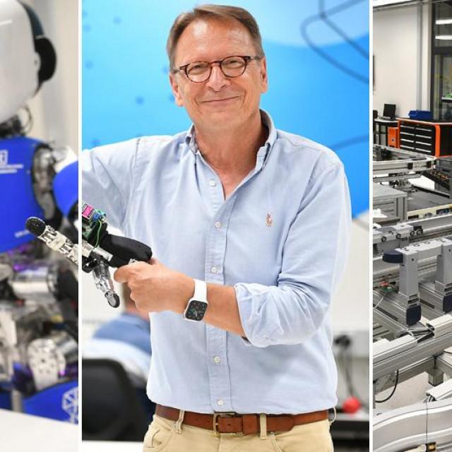 Regionalni centar izvrsnosti za robotske tehnologije CRTA pri Fakultetu strojarstva i brodogradnje i voditelj Bojan Jerbić