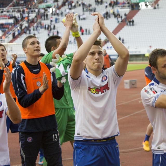 Josip Vuković i Goran Jozinović i Nikola Vlašić (2015. godine)