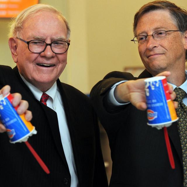 Warren Buffett i Bill Gates