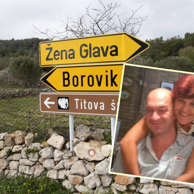 Biljana Žmura s nevjenčanim suprugom Zoranom