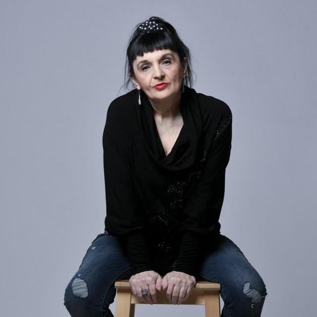 Zagreb, 030120.<br /> Vidovnjakinja Vera Cudina fotografirana u studiju Hanza medije.<br />