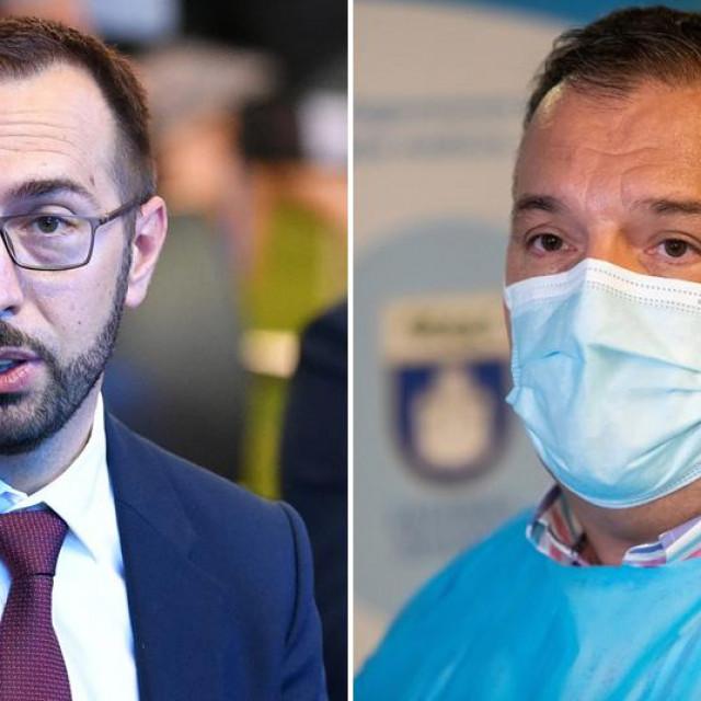 Tomislav Tomašević i Vili Beroš