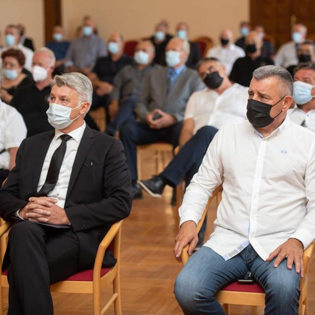 Župan Božidar Longin i general Ante Gotovina<br />