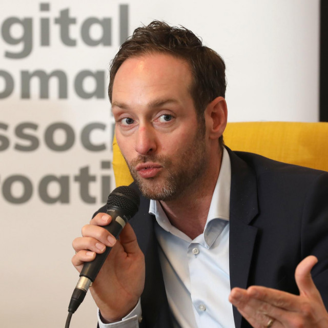 Jan de Jong na prvom Tjednu digitalnih nomada u Zagrebu
