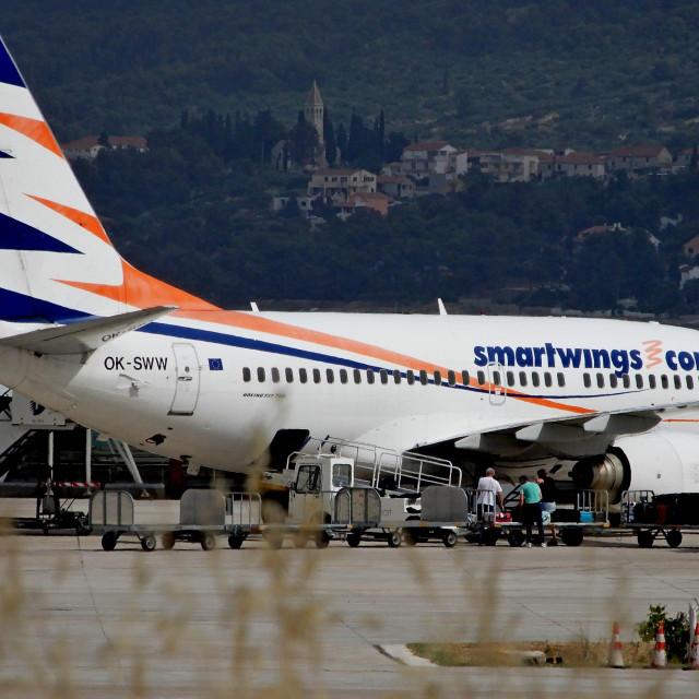 Zrakoplov iz Praga kompanije Smartwings<br /> <br />