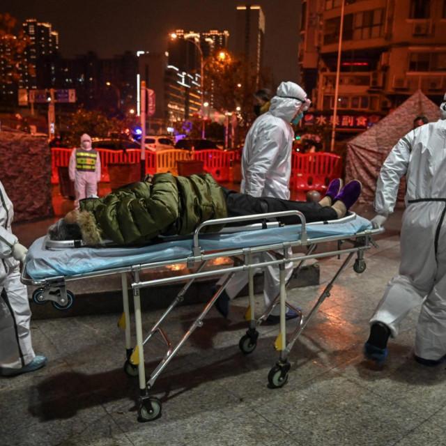 Početak pandemije koronavirusa u Wuhanu