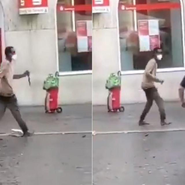 Muškarac u njemačkom Würzburgu ljude napao nožem